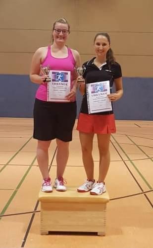 Siegerfoto Stadtmeister 2018 Damendoppel B