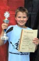 Christopher Berges gewinnt in der C-Jugend