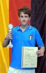 Marco Sudano gewinnt Bronze