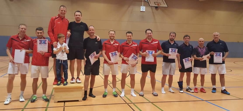 Siegerfoto Stadtmeister 2018 Herrendoppel A