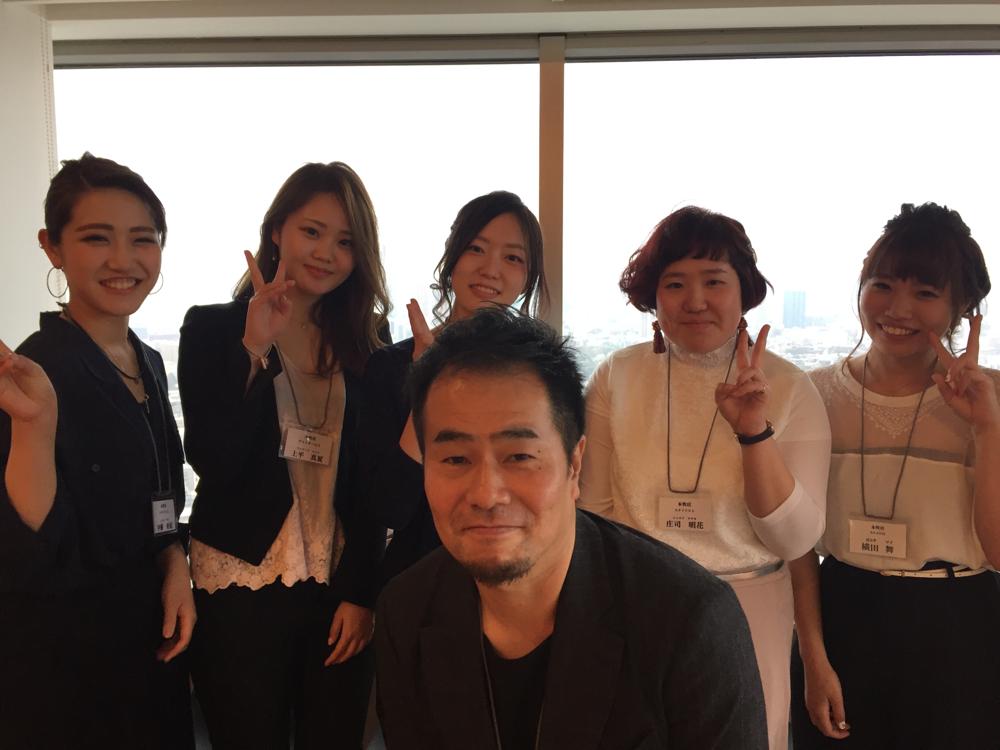 伊藤さん、上平さん、吉田さん、庄子さん、横田さん、写ってないけど東さんの本牧の新人達
