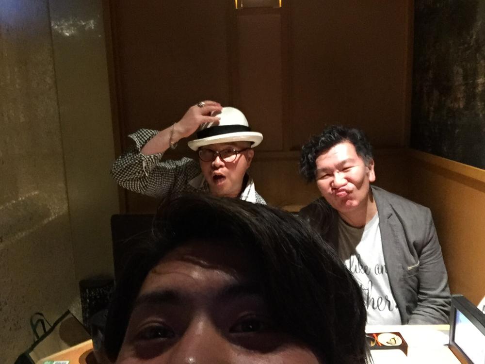 (左)TOPスタイリスト伊藤さん  (右)福田社長