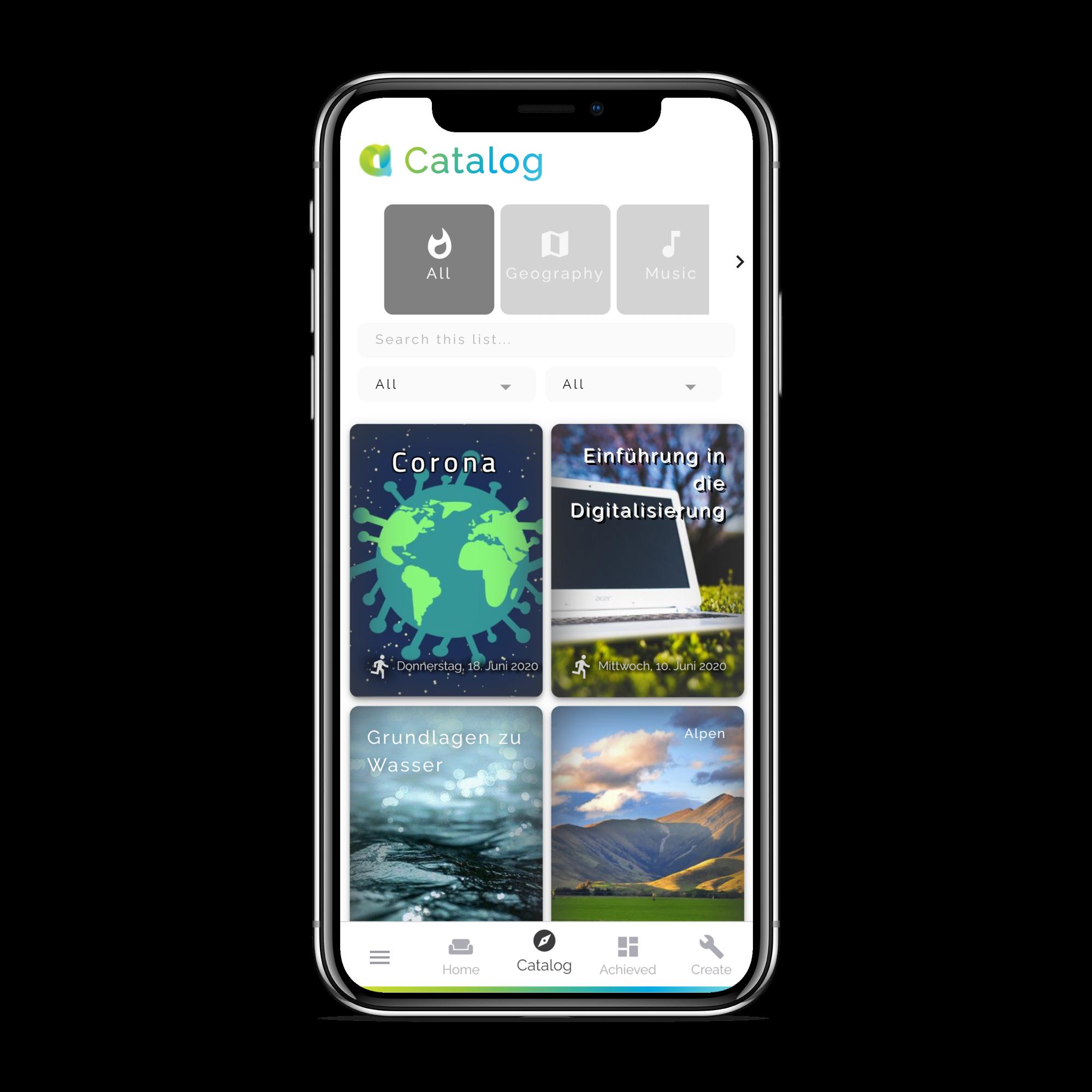 "Unsere App: ""Das digitale Arbeitsblatt"""