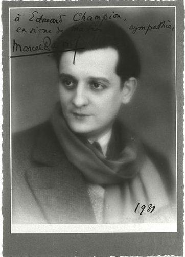 Studio L.G. Manuel frères, Marcel Pagnol, vers 1931