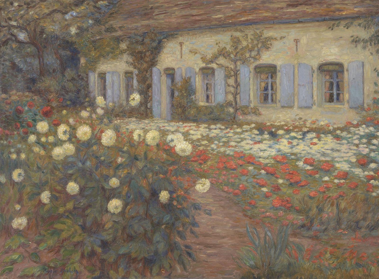 Marie Duhem, Jardin de campagne, Camiers © Musée du Touquet-Paris-Plage /Bruno Jagerschmidt