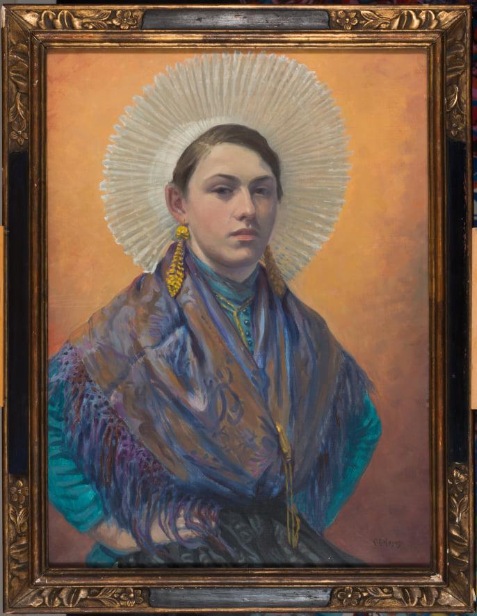 Chester Hayes, Matelote d'Etaples, 1932 © Musée du Touquet-Paris-Plage /Xavier Nicostrate