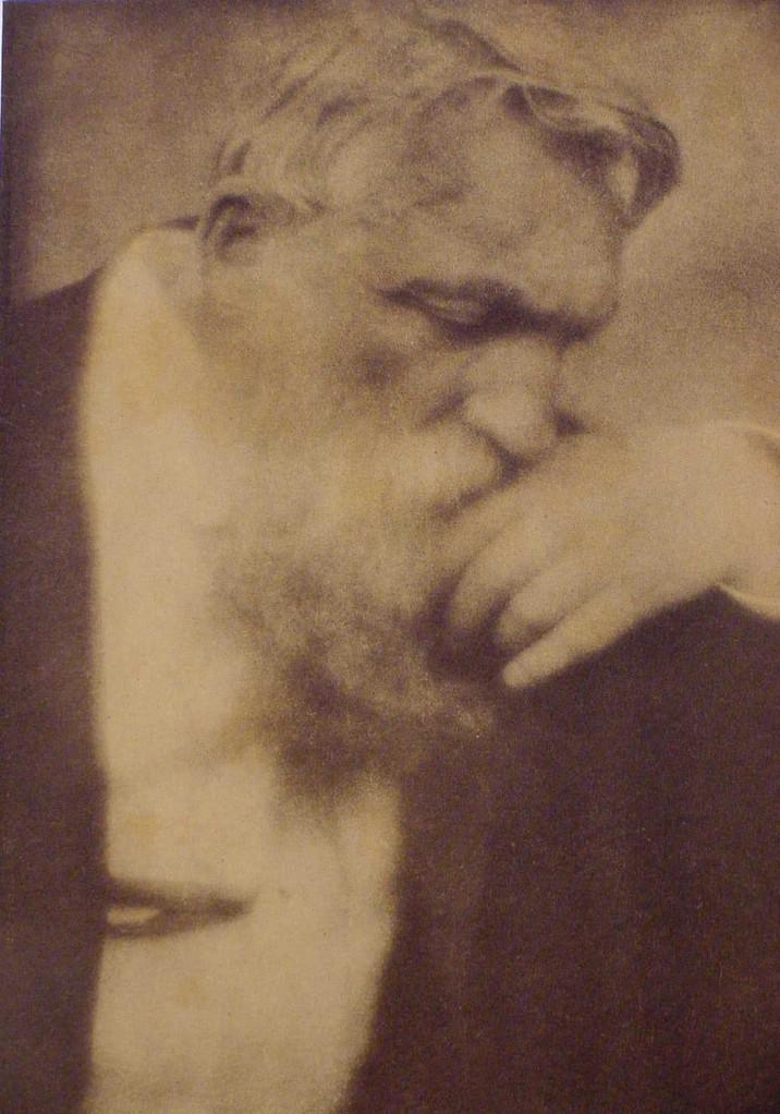 Edward Steichen, Auguste Rodin, 1907