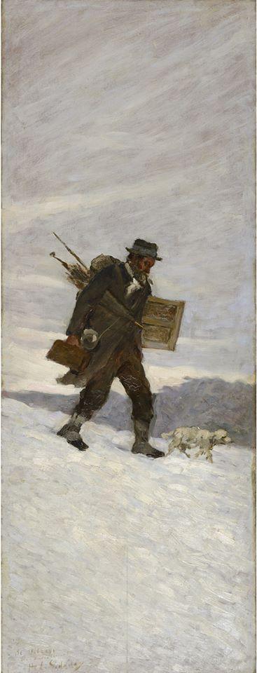 Henri Le Sidaner, Portrait d'Alphonse Chigot, 1887 © Musée du Touquet-Paris-Plage /Bruno Jagerschmidt