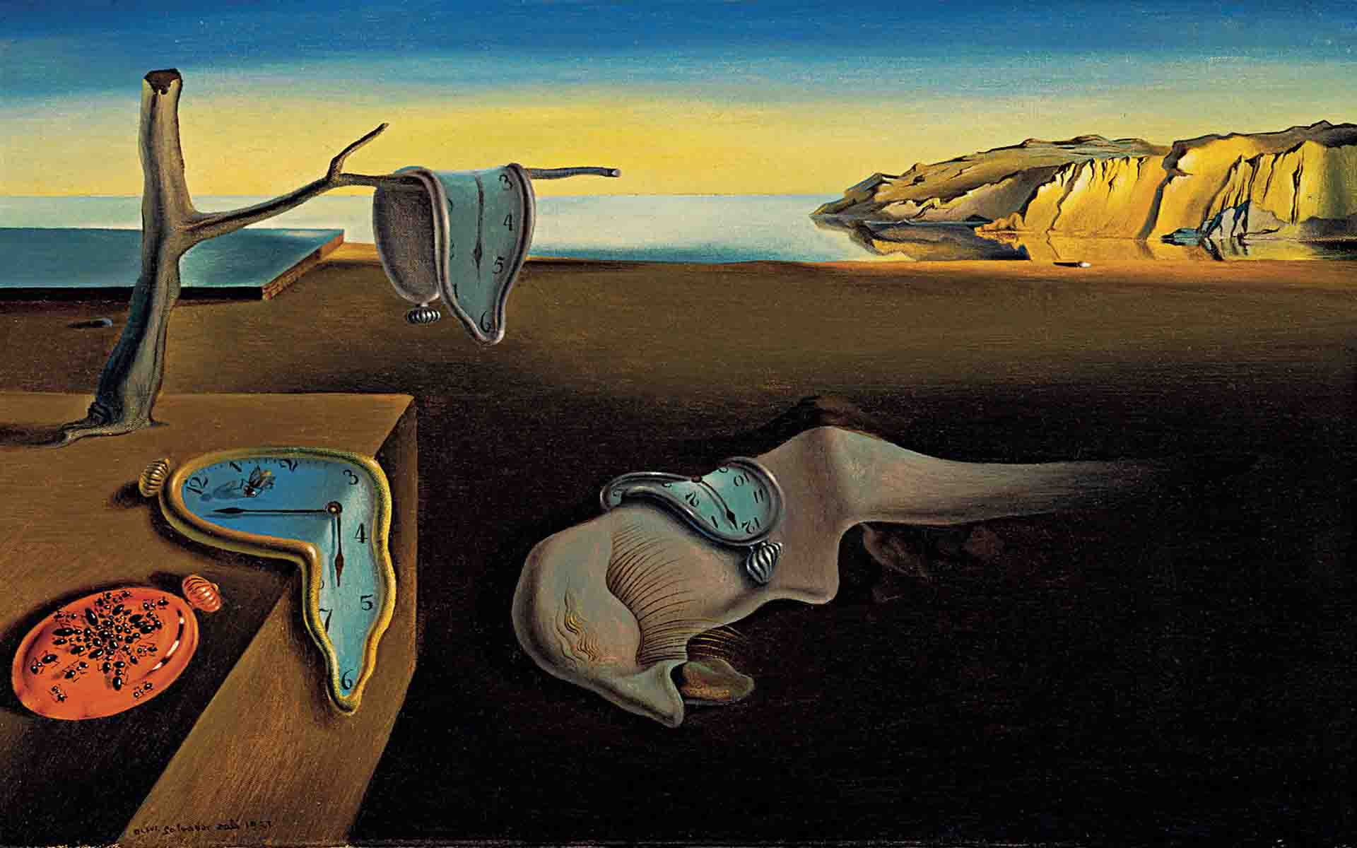 Salvador Dalí, La persistance de la mémoire, 1931 © Salvador Dalí, Gala-Salvador Dalí Foundation/Artists Rights Society (ARS), New York.