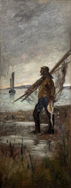 Eugène Chigot, Portrait de marin, 1887 © Musée du Touquet-Paris-Plage /Bruno Jagerschmidt