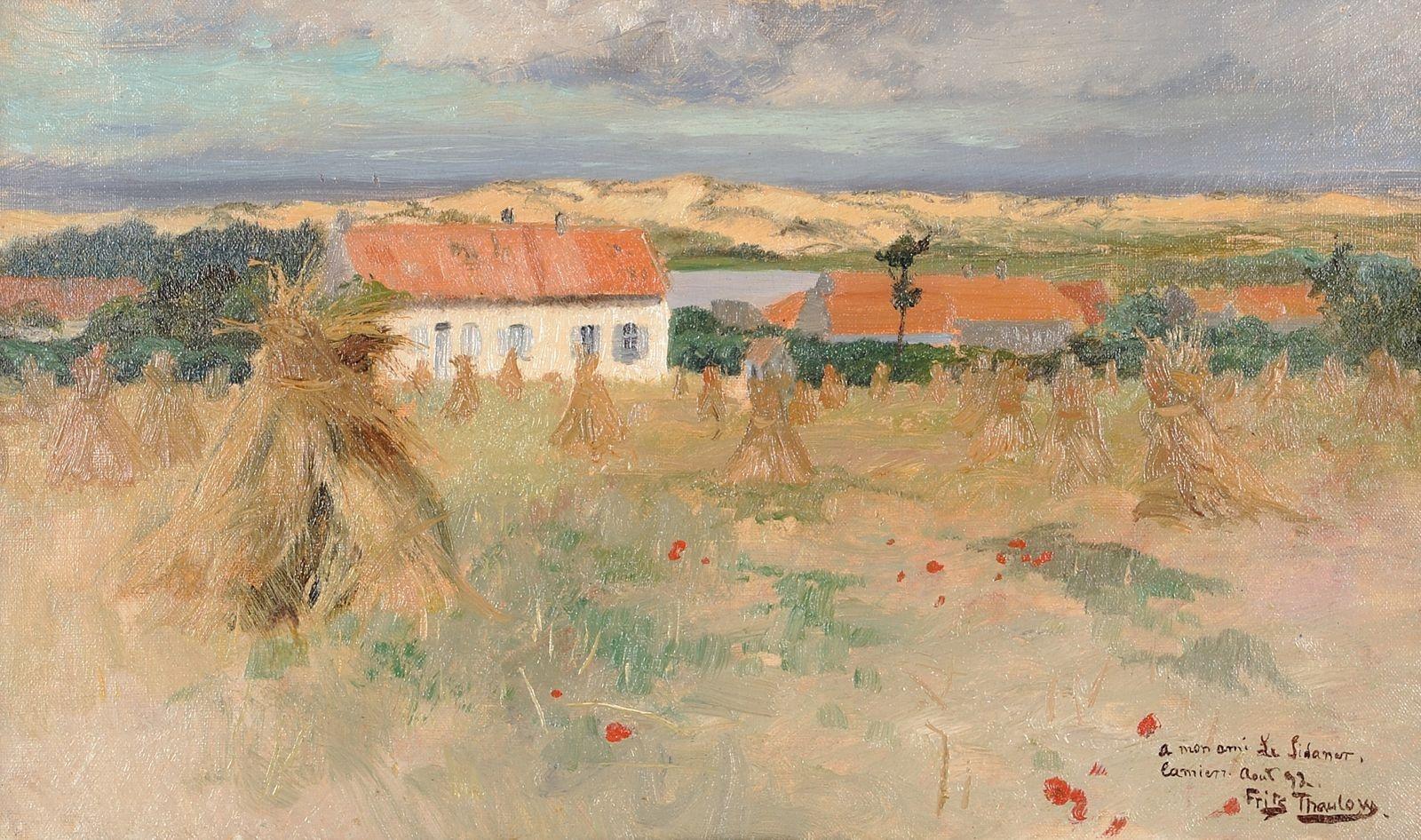 Fritz Thaulow, Camiers, 1892, 1892 © Musée du Touquet-Paris-Plage / Bruno Jagerschmidt