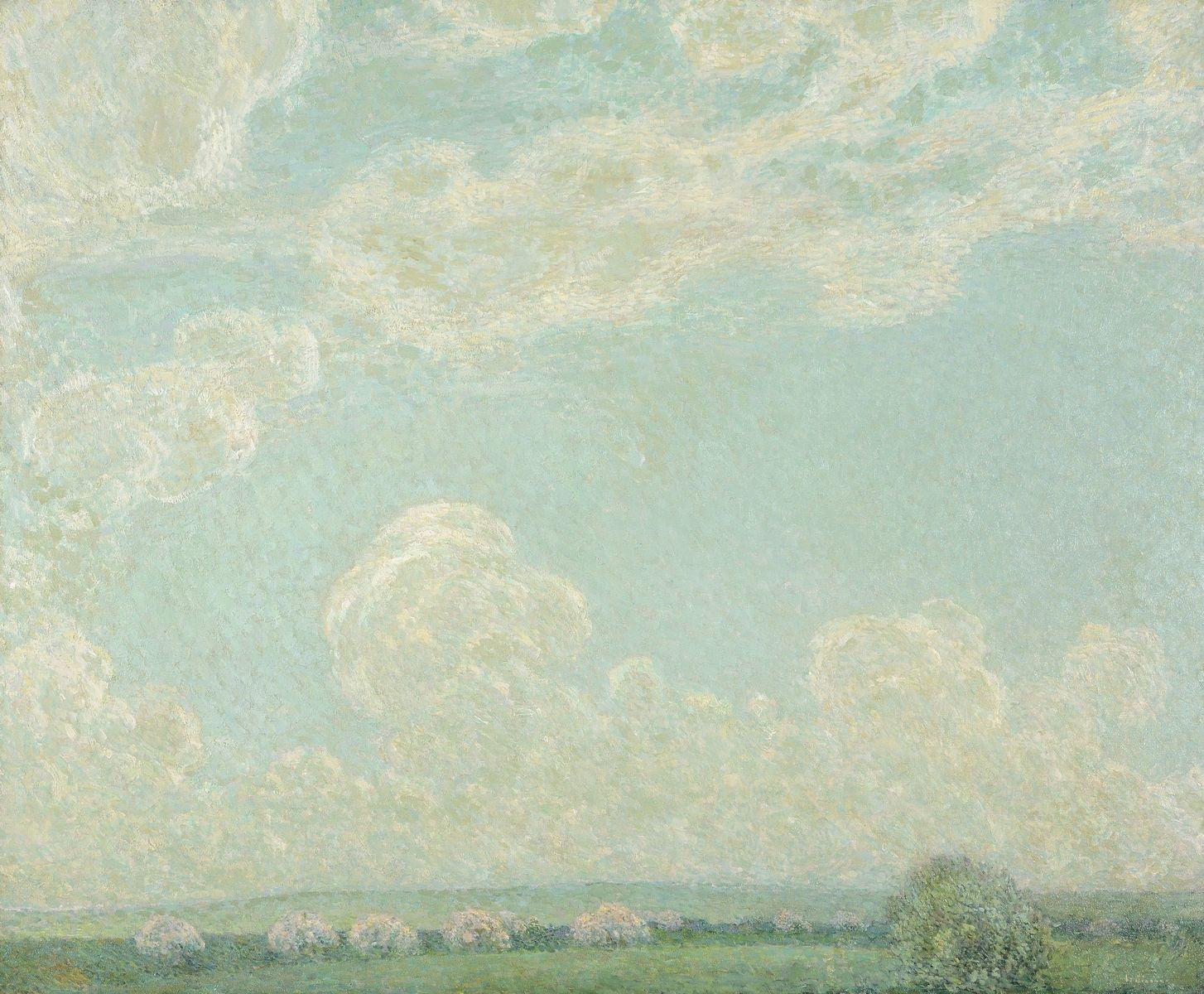 Henri Le Sidaner, Ciel de Printemps, 1913 © Musée du Touquet-Paris-Plage / Bruno Jagerschmidt