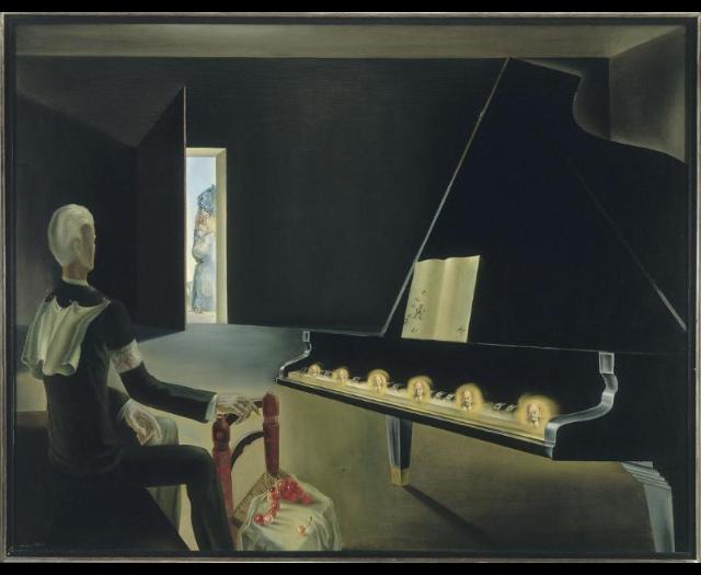 Salvador Dalí, Hallucination partielle. Six images de Lénine, 1931 © Jacques Faujour - Centre Pompidou, MNAM-CCI /Dist. RMN-GP © Salvador Dalí, Fundació Gala-Salvador Dali / Adagp, Paris