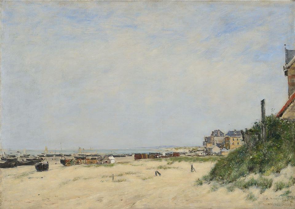 Eugène Boudin, Berck, le rivage, 1881 © Musée du Touquet-Paris-Plage /Bruno Jagerschmidt