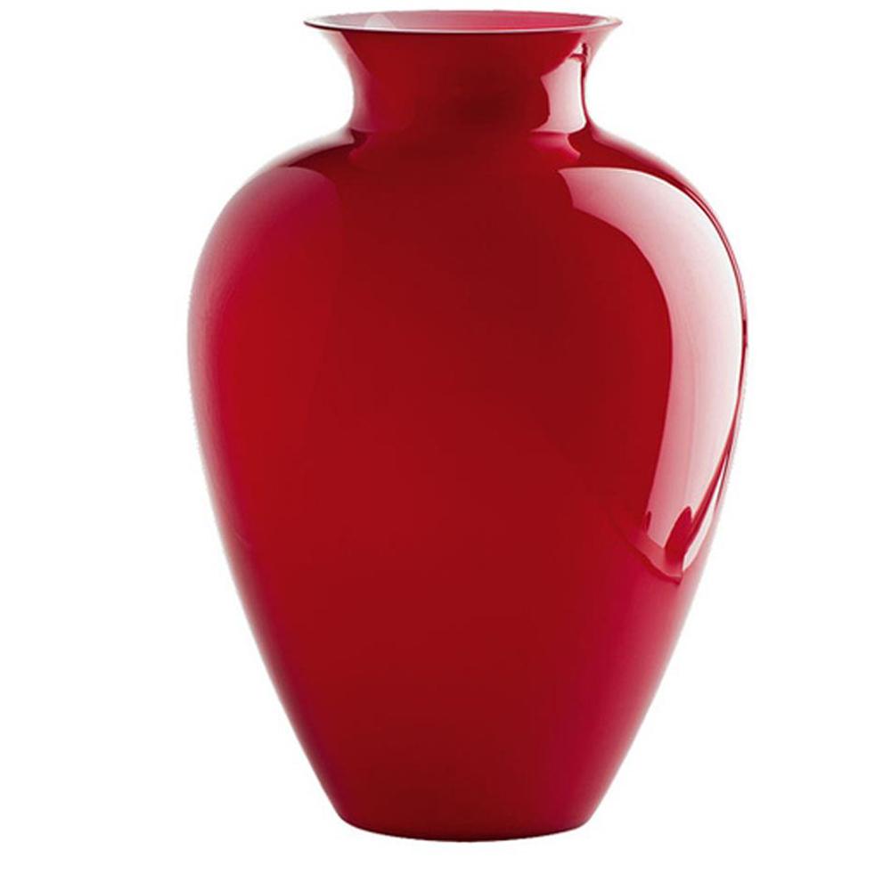 VENINI Vase LABUAN, rosso