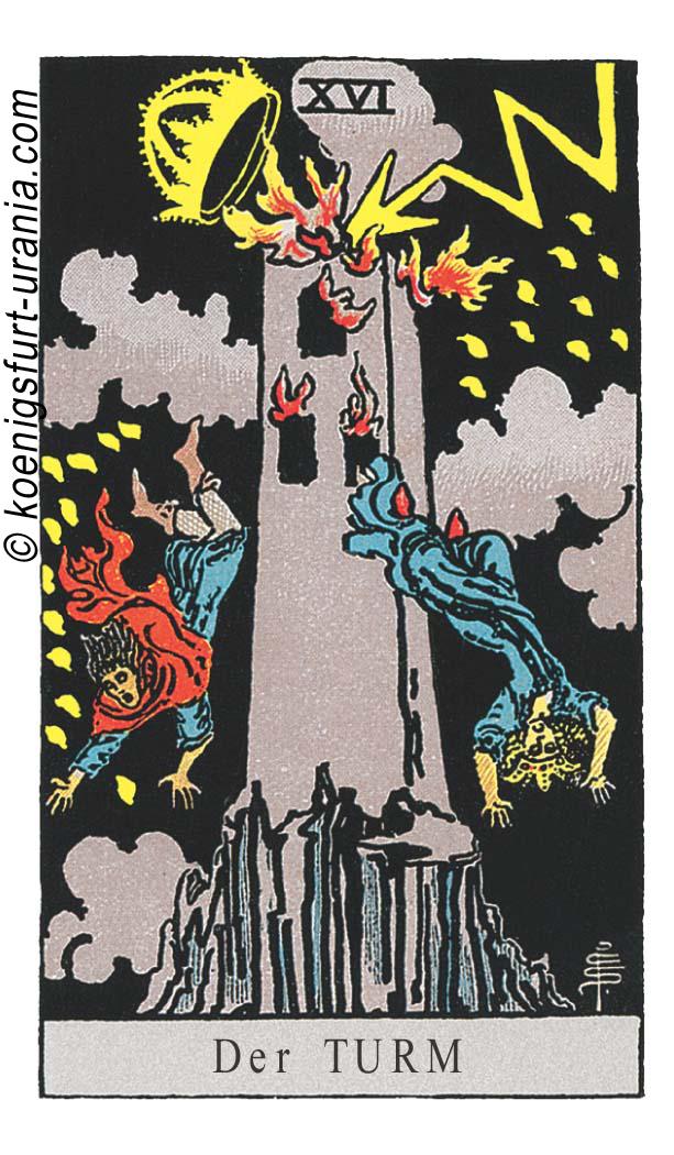 Der Turm im Tarot für Liebe, Sexualität, Beruf, Dualseelen & Seelenpartner im Tarot