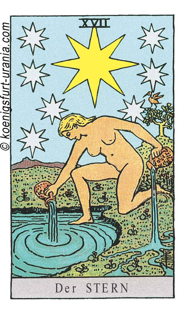 Der Stern im Tarot für Liebe, Beruf, Sexualität, Dualseelen & Seelenpartner