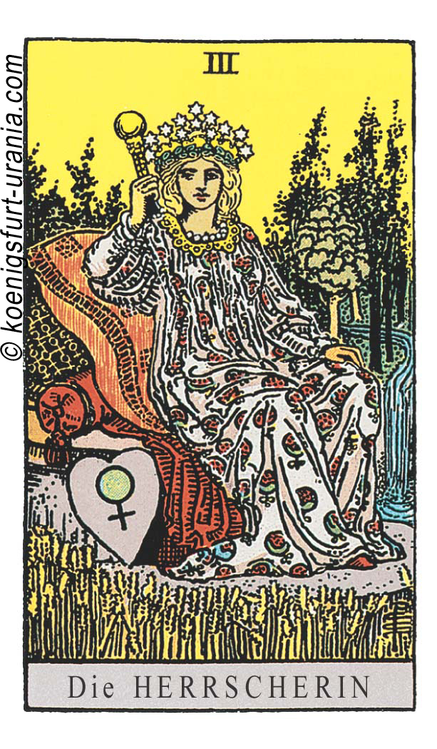Die Herrscherin im Tarot: für Liebe, Beruf, Seelenpartner & Dualseelen