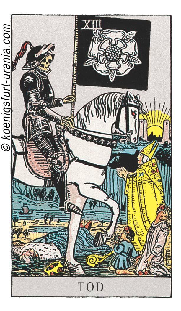 Der Tod im Tarot für Liebe, Sexualität, Beruf, Dualseelen & Seelenpartner im Tarot