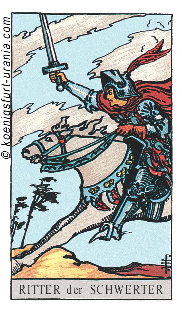 Ritter der Schwerter im Tarot