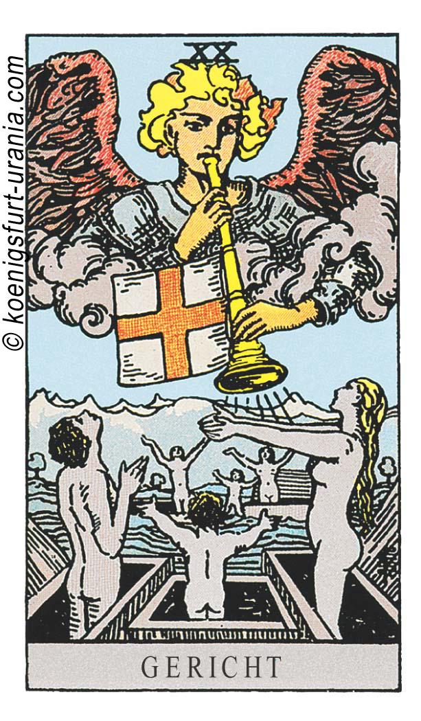 Das Gericht im Tarot: für Liebe, Beruf, Seelenpartner & Dualseelen