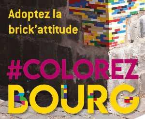 """Retour en images sur l'opération """" COLOREZ BOURG"""""""