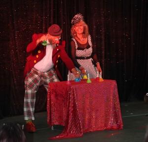 Retour en images - spectacle de clowns - 28 juillet