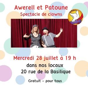 MERCREDI 28 JUILLET - Soirée Clowns