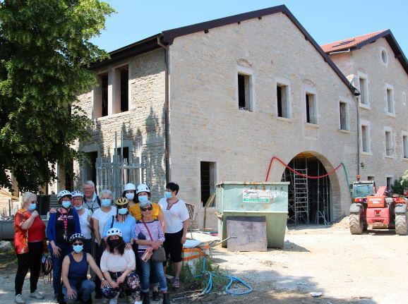 Visite du chantier de nos futurs locaux !