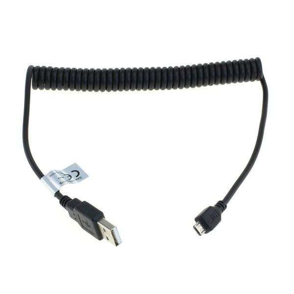 USB Spiralkabel