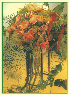 Motiv der Schmuckkarte zur Einladung für die 100-Jahr-Feier des Gartenbauvereins Vohburg