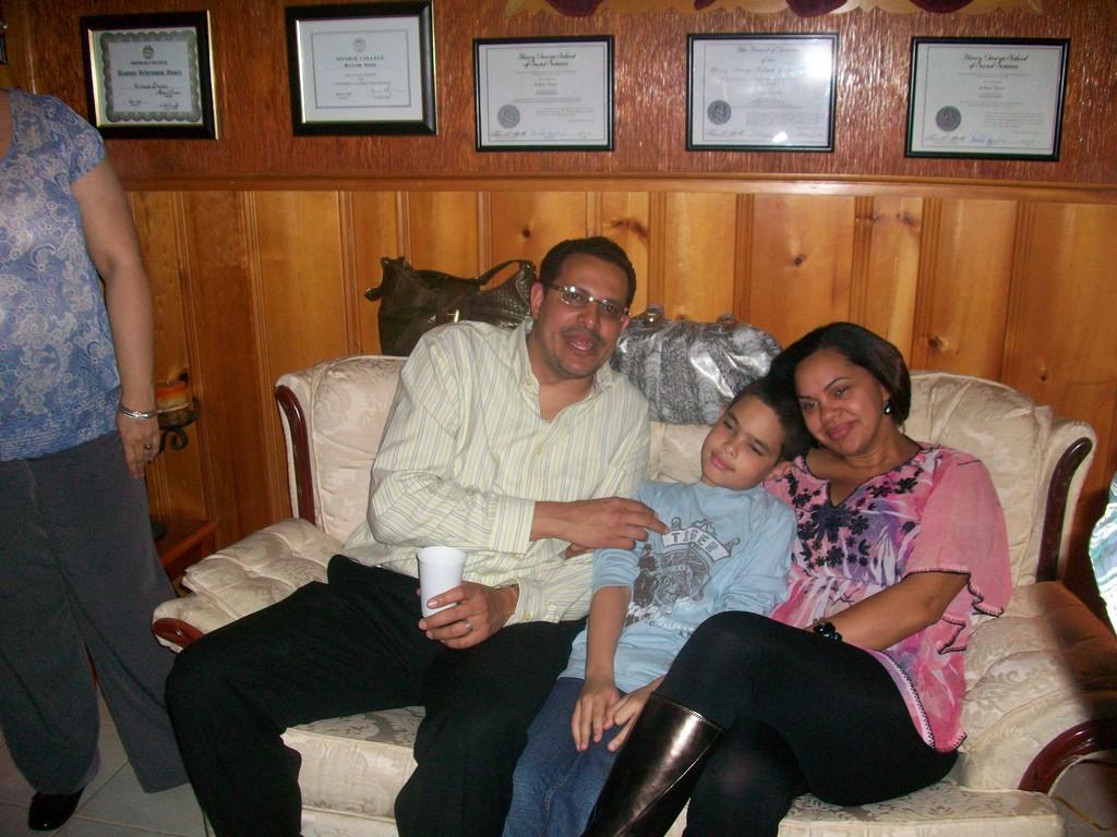 Carlos P y familia