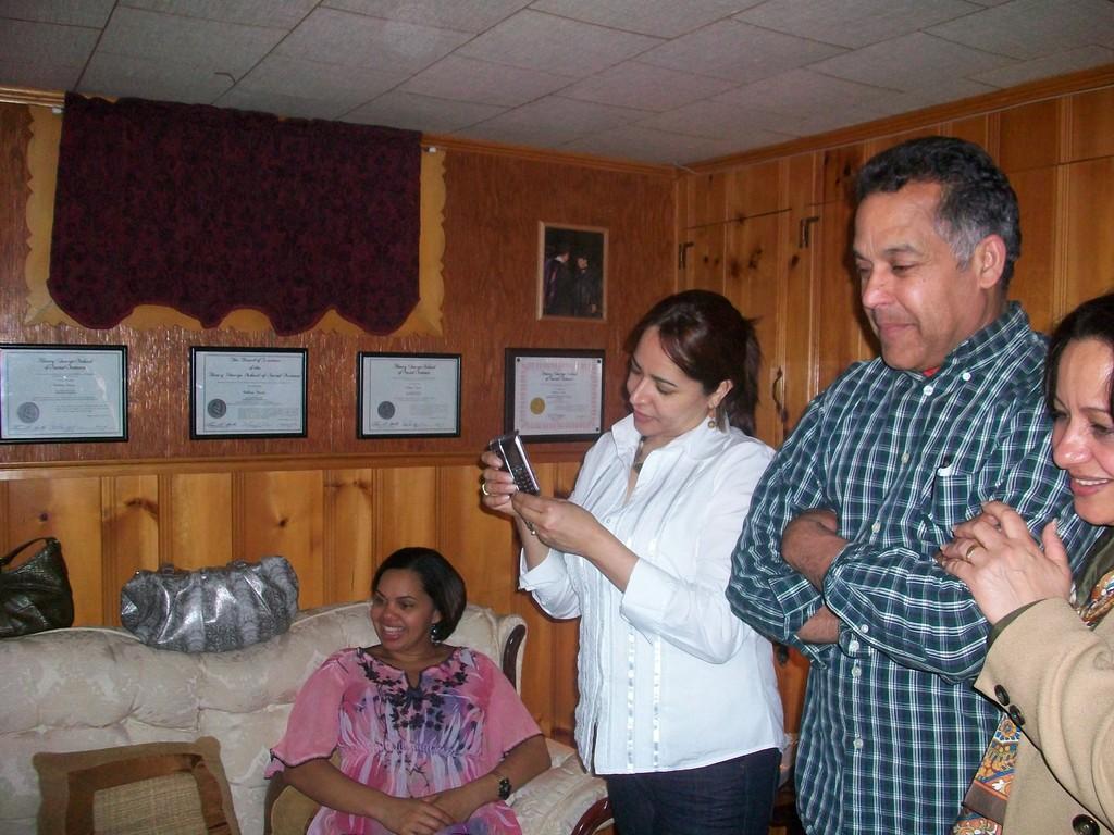 Zoila.José,Mirian y Sandra