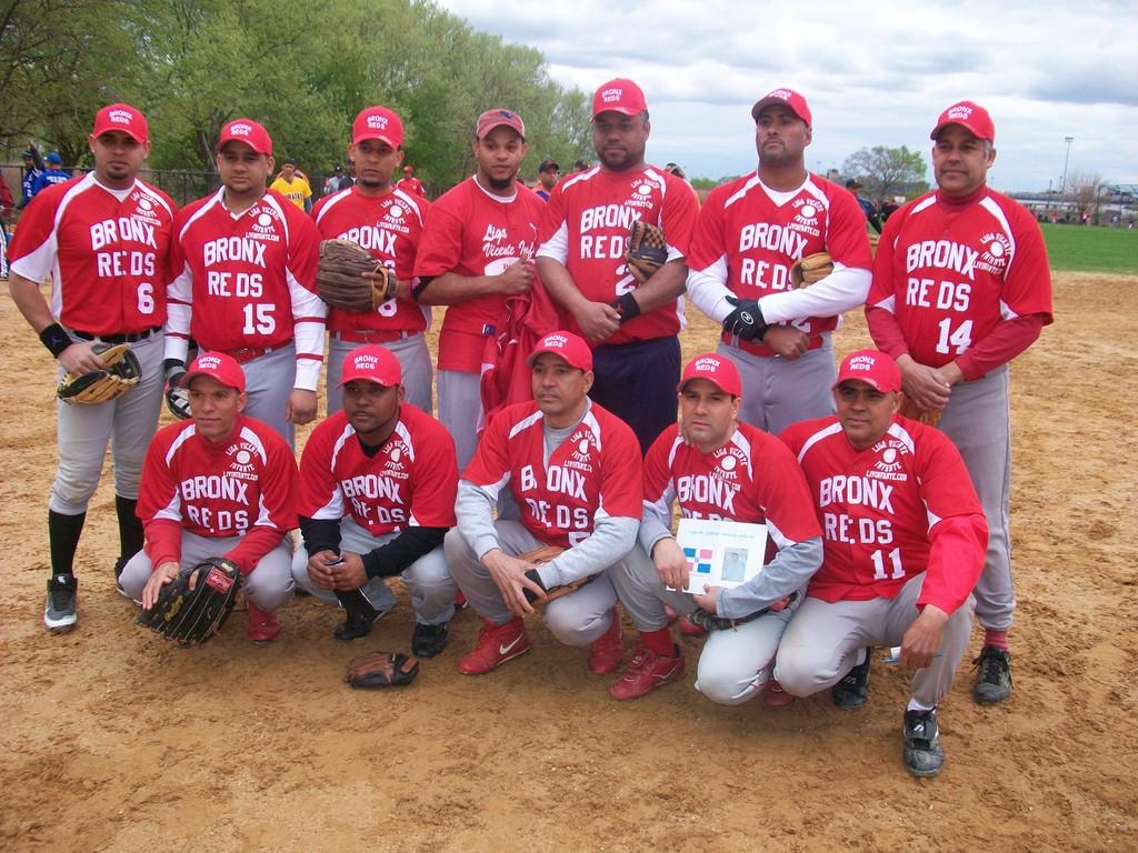 Liga Vicente Infante,www.livinfante.com  Equipo Los Rojos