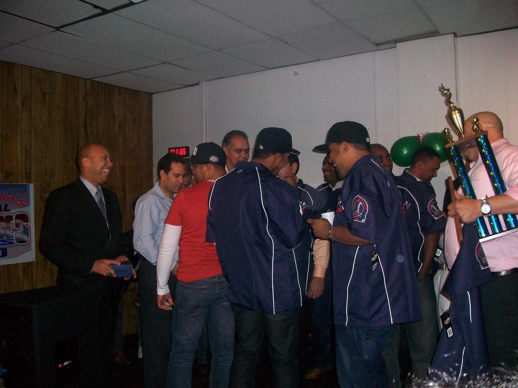 Entrega trofeo 2009