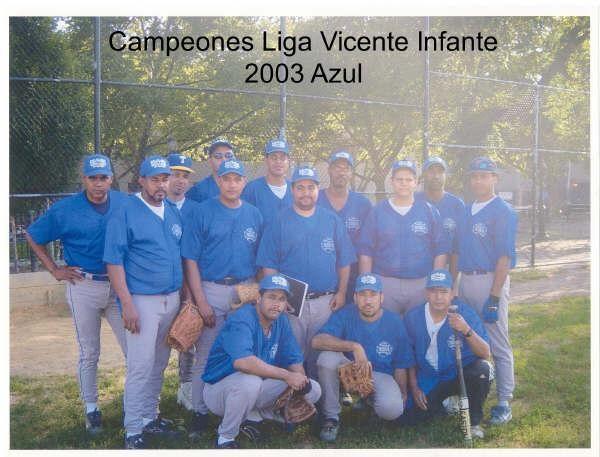 Equipo Azules   (L V I )