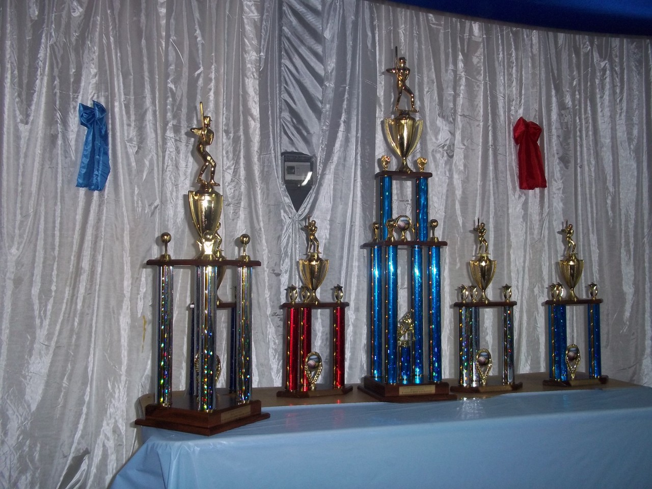 Trofeos Entregados Temporada  2012