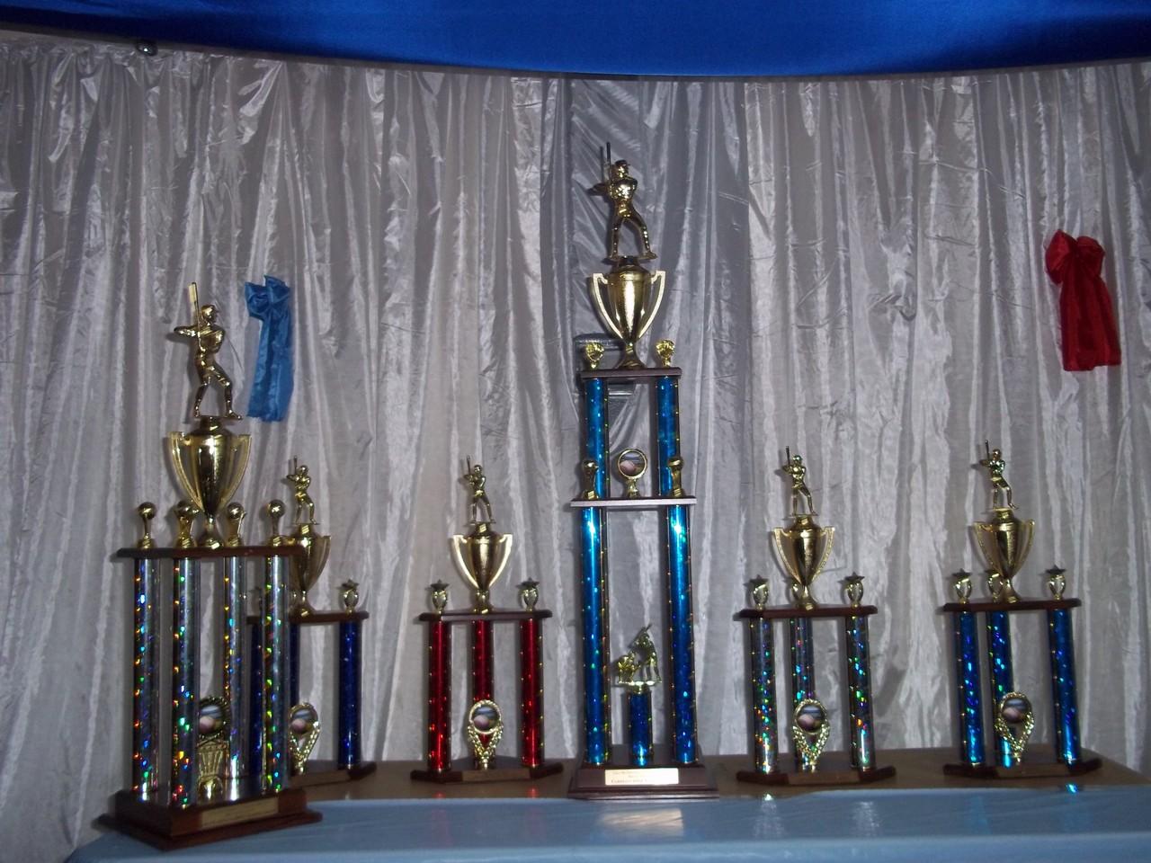 Trofeos Entregados, Temporada2012