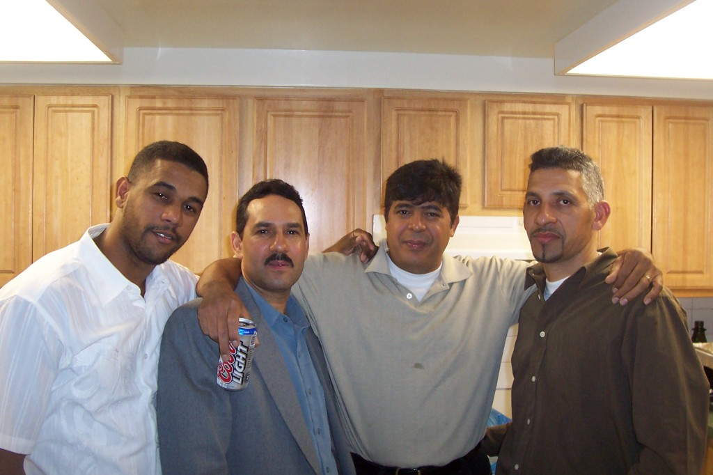 Leo,Milo,Cristian y Ninicito