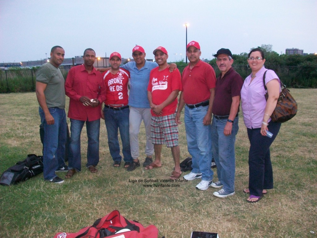 Parte del Equipo Rojo ,último dia de Juego 2010.