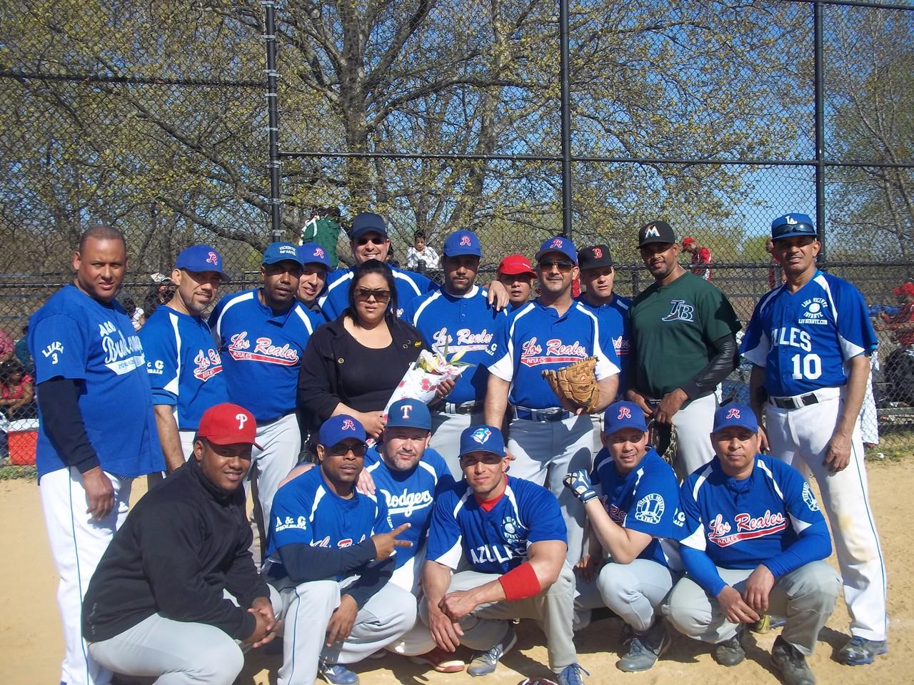 Equipo Los Azules 2013
