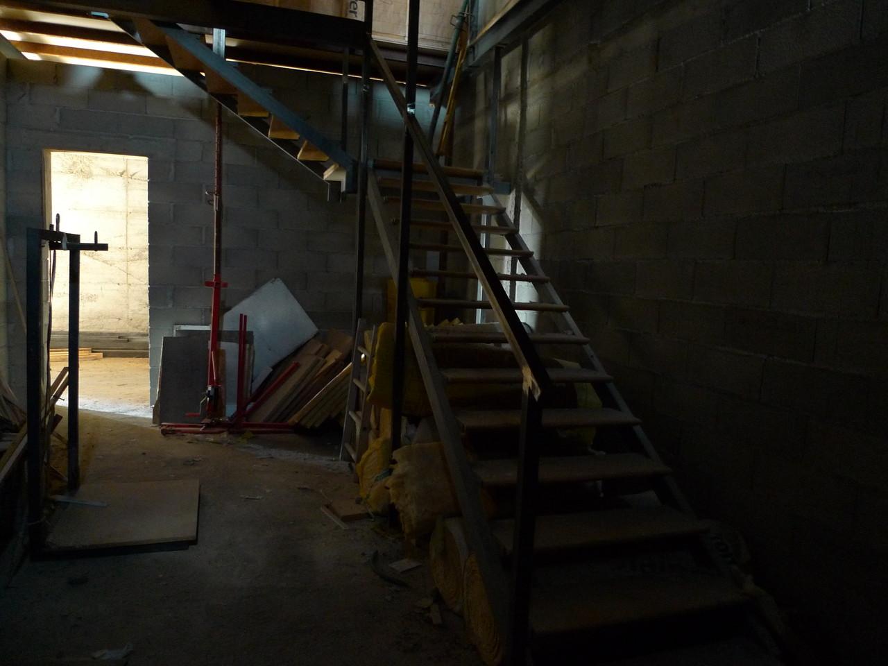 Escalier du 1er bâtiment