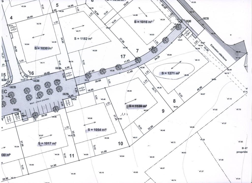3 terrains de ce lotissement VENDU par notre agence immobilière. Téléphoner au 06.81.62.60.70 pour nous confier la vente de votre lotissement.