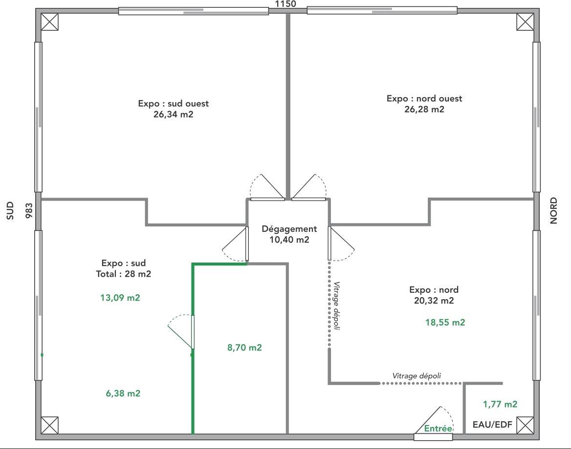 VENDU ! avec le concours de notre agence immobilière. Téléphoner au 06.81.62.60.70 pour nous confier la vente de votre local.