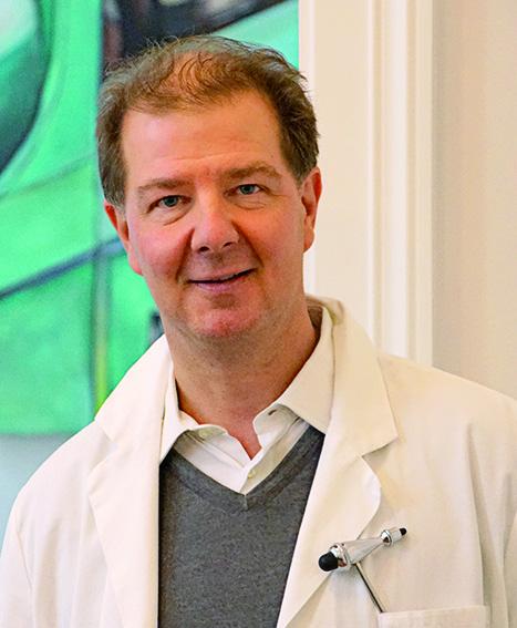 Bild zeigt den Neurologen Dr. Thomas Bachrich