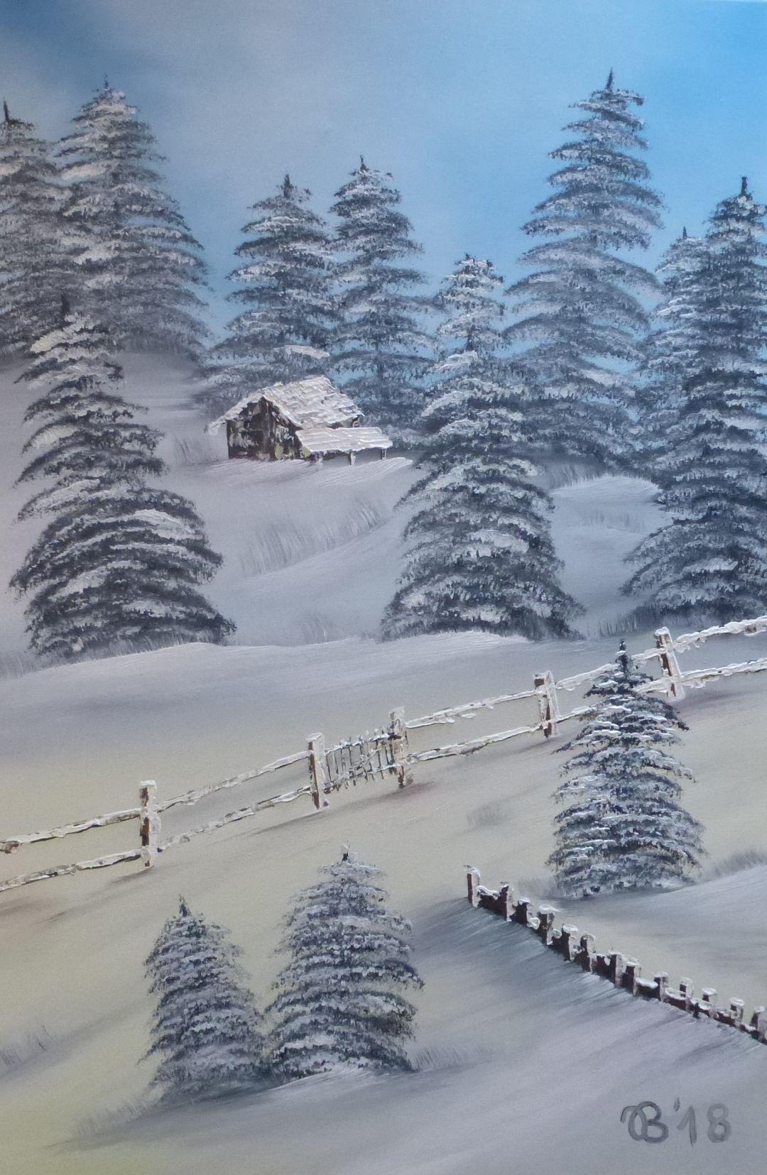 (65)     Weihnachtspostkarte     60 cm x 80 cm
