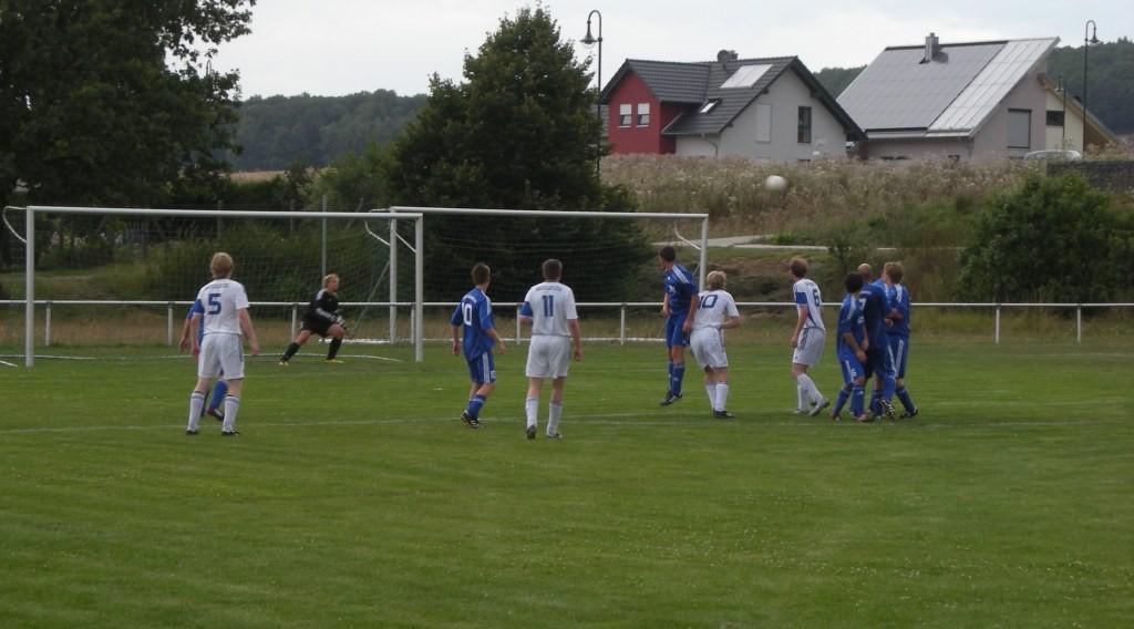 Niklas Müller zum 4:0