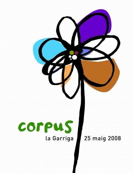 Cartell 2008. Obra de Joan Antoni Martori Alonso
