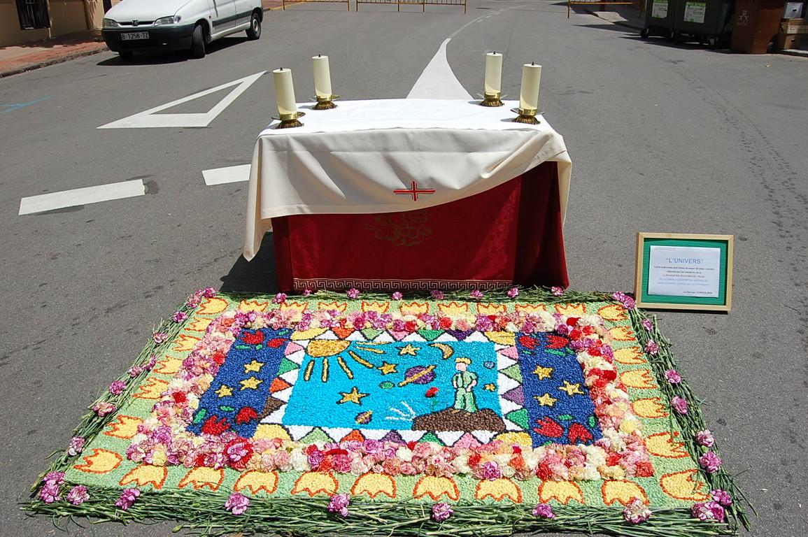 Altar de la Residència del Pilar-Plaça de les Oliveres