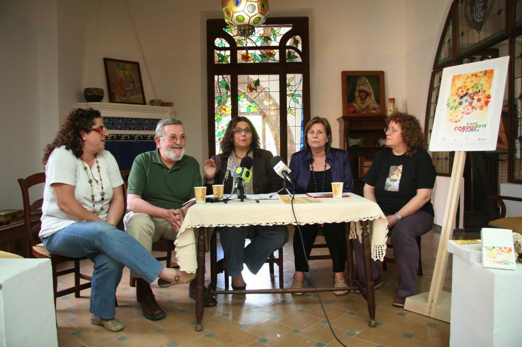 25/05/2010 Presentació de la festa de Corpus als mitjans, a Can Raspall. Foto: Daniel Soler